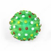 Мяч с шипами большой, зеленый
