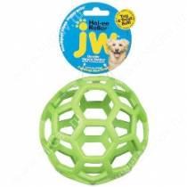 Мяч сетчатый Hol-ee Roller Dog Toys из каучука, средний, зеленый