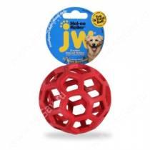 Мяч сетчатый Hol-ee Roller Dog Toys из каучука, малый, красный