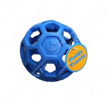 Мяч сетчатый Hol-ee Roller Dog Toys из каучука, большой, синий