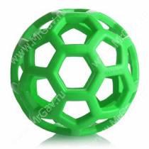 Мяч сетчатый Hol-ee Roller Dog Toys из каучука, очень большой, зеленый