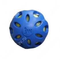 Мяч сетчатый хрустящий JW Crackle&Crunch Ball, большой, синий