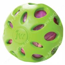 Мяч сетчатый хрустящий JW Crackle&Crunch Ball, средний, зеленый