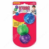 Мячи для лакомств Kong  Lock-It, 3 шт