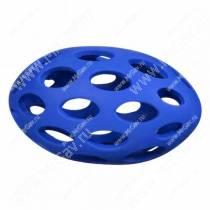 Мячик для регби сетчатый JW Sphericon Dog Toys из каучука, маленький, синий