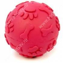 Мячик хихикающий JW Giggler из каучука, большой, красный