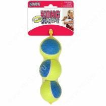 Мячик Kong Ultra Squeak, 3 шт, средний