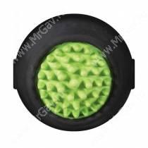 Мячик с ежиком JW Grass Ball из каучука, большой, черный