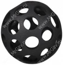 Мячик с круглыми отверстиями JW Hol-ee Bowler Dog Toys, малый, черный