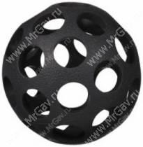 Мячик с круглыми отверстиями JW Hol-ee Bowler Dog Toys, большой, черный