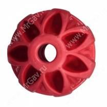 Мячик суперупругий JW Megalast Ball, малый, красный