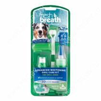 Набор для собак мелких пород Tropiclean Fresh Breath супер отбеливание для чистки зубов