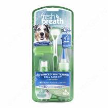 Набор для собак средних и крупных пород Tropiclean Fresh Breath супер отбеливание для чистки зубов