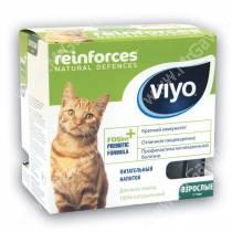 Напиток-пребиотик Viyo Reinforces Cat Adult для взрослых кошек, 7*30 мл