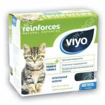 Напиток-пребиотик Viyo Reinforces Cat Kitten для котят, 7*30 мл