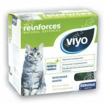 Напиток-пребиотик Viyo Reinforces Cat Senior для пожилых кошек, 7*30 мл