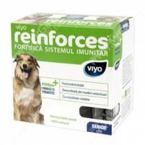 Напиток-пребиотик Viyo Reinforces Dog Senior для пожилых собак, 7*30 мл