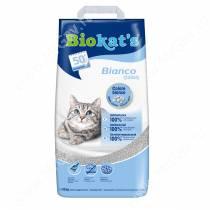 Наполнитель BIOKAT'S BIANCO комкующийся белый