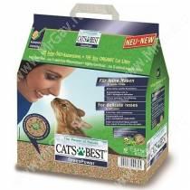 Наполнитель древесный Cat's Best Green Power комкующийся, 3,2 кг