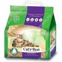 Наполнитель древесный Cat's Best Smart Pellets