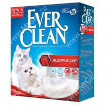 Наполнитель Ever Clean Multiple Cat комкующийся  для нескольких кошек