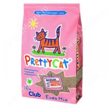 Наполнитель комкующийся PrettyCat Euro Mix, 10 кг