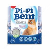 Наполнитель Pi-Pi-Bent DeLuxe Clean cotton, 5 кг