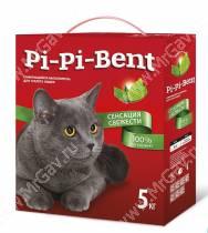 Наполнитель Pi-Pi-Bent Сенсация свежести (коробка), 5 кг