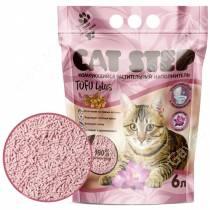 Наполнитель растительный комкующийся Cat Step Tofu Lotus, 6 л