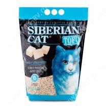 Наполнитель растительный комкующийся Сибирская кошка Tofu оригинальный