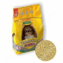 Наполнитель Сибирская кошка Ультра, 3 л