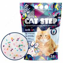 Наполнитель силикагелевый Cat Step Arctic Art, 3,8 л