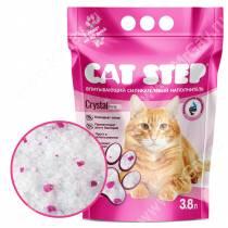 Наполнитель силикагелевый Cat Step Crystal Pink, 3,8 л
