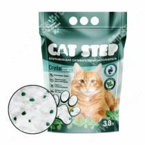 Наполнитель силикагелевый Cat Step Fresh Mint