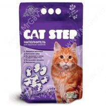 Наполнитель силикагелевый Cat Step Лаванда, 3,8 л