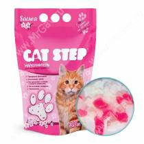 Наполнитель силикагелевый Cat Step Сакура, 3,8 л