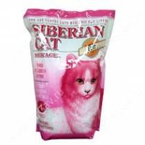 Наполнитель силикагелевый Сибирская кошка Элитный для привередливых кошек