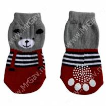 Носки для собак Triol Медведь, XL
