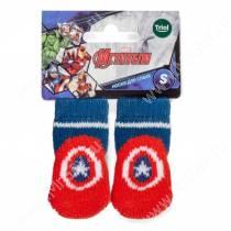 Носки Triol Marvel Капитан Америка, размер L