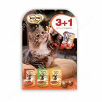 Новогодний набор для кошек Мнямс 3+1