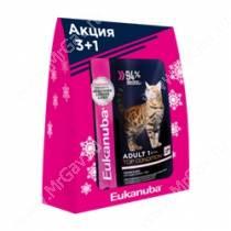 Новогодний набор для кошек Eukanuba 3+1