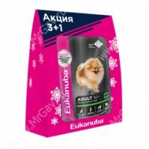Новогодний набор для собак Eukanuba 3+1