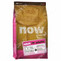 NOW! Fresh Grain Free Adult Cat Recipe, 0,23 кг