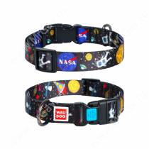 Ошейник Collar WAUDOG Nylon NASA, 49 см*2,5 см