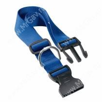 Ошейник нейлоновый Ferplast Club, 70 см*4 см, синий