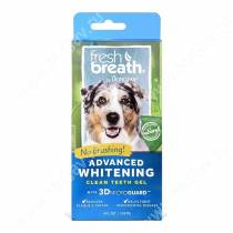 Отбеливающий зубной гель для собак Tropiclean Fresh Breath, 118 мл