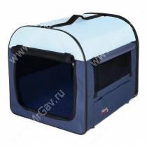 Палатка Trixie TCamp 4, 80 см*55 см*65 см, сине-серая