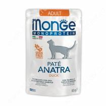 Пауч Monge Cat Monoprotein Pouch (Утка), 85 г