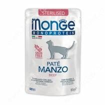 Пауч Monge Cat Sterilised Monoprotein Pouch (Говядина), 85 г