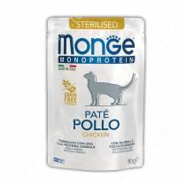 Пауч Monge Cat Sterilised Monoprotein Pouch (Курица), 85 г